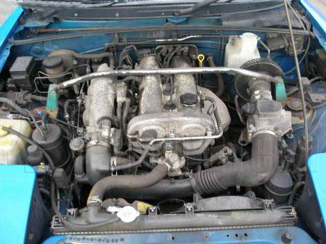 Engine Picture - Model 1 - MAZDA MX5 1600 cc 89-98  16 VALVE  DOHC EFI  POP UP LIGHTS  CONVERTIBLE
