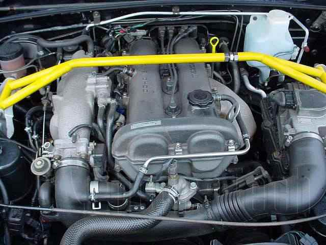 Engine Picture - Model 4 - MAZDA MX5 1600 cc 98-05  16 VALVE  DOHC EFI  MK 2  CONVERTIBLE