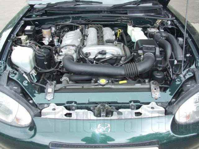 Engine Picture - Model 1 - MAZDA MX5 1800 cc 98-05  16 VALVE  DOHC EFI  MK 2  CONVERTIBLE