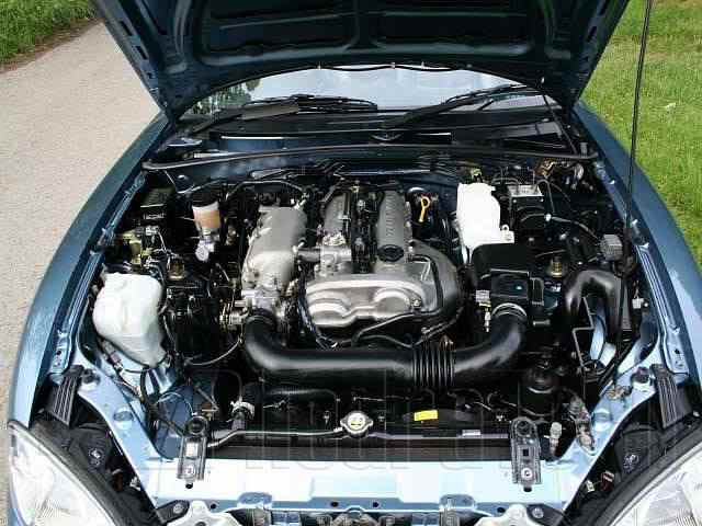 Engine Picture - Model 4 - MAZDA MX5 1800 cc 98-05  16 VALVE  DOHC EFI  VVT-I  CONVERTIBLE