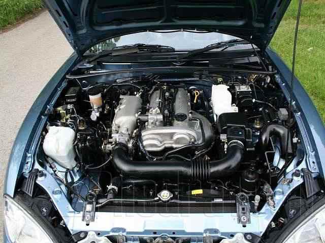 Engine Picture - Model 4 - MAZDA MX5 1800 cc 98-0516 VALVEDOHC EFIVVT-ICONVERTIBLE