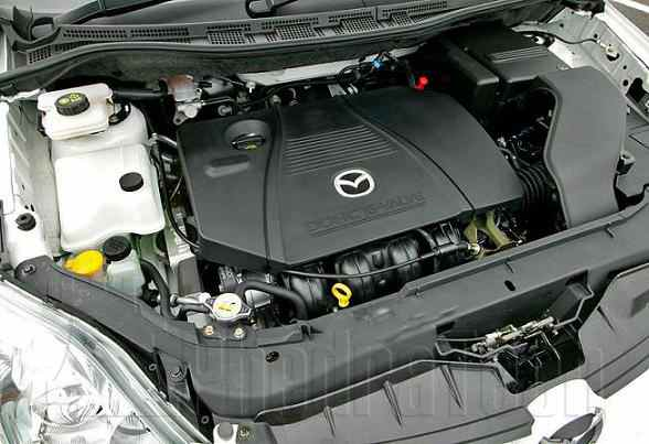 Engine Picture - Model 5 - MAZDA 6 2300 cc 07-11  16 VALVE  VVT-I    5 DR HATCH