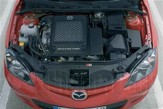 Engine Picture - Model 2 - MAZDA 3 2300 cc 06-11  16 VALVE  TURBO    5 DR ESTATE