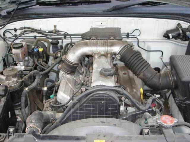 Engine Picture - Model 7 - MAZDA B2500 DIESEL 2500 cc 97-06  TURBO  EFI    SINGLE CAB PICK UP