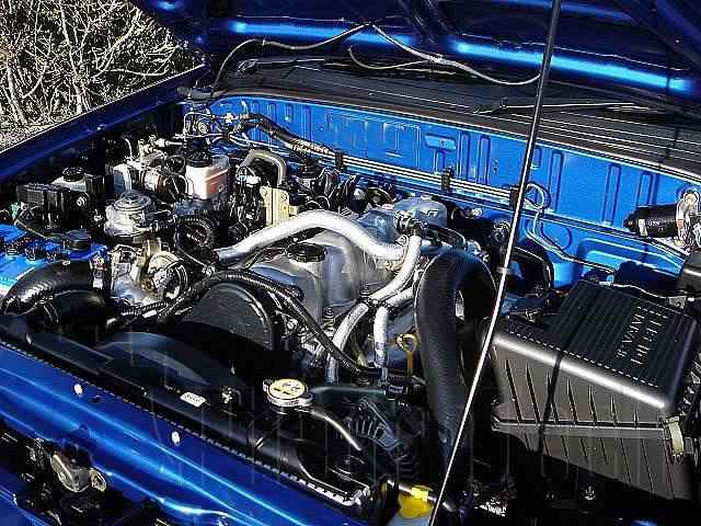 Engine Picture - Model 1 - MAZDA B2500 DIESEL 2500 cc 97-06  TURBO      DOUBLE CAB PICK UP