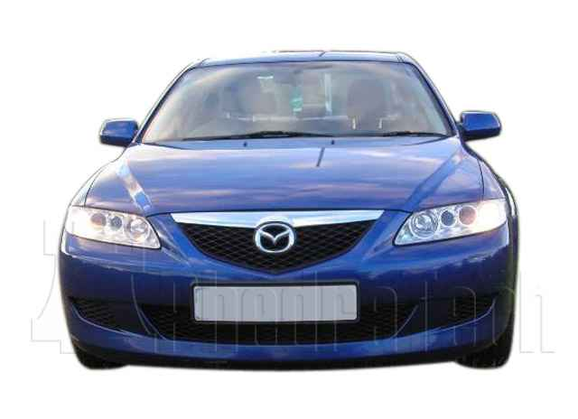 Car Picture - Model 3 - MAZDA 6 2300 cc 02-11  16 VALVE  VVT-I    4 DR SALOON