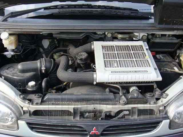 Engine Picture - Model 3 - MITSUBISHI L200 2500 cc 97-06  TURBO INTERCOOLER  EFI  FOUR WHEEL DRIVE  DOUBLE CAB PICK UP
