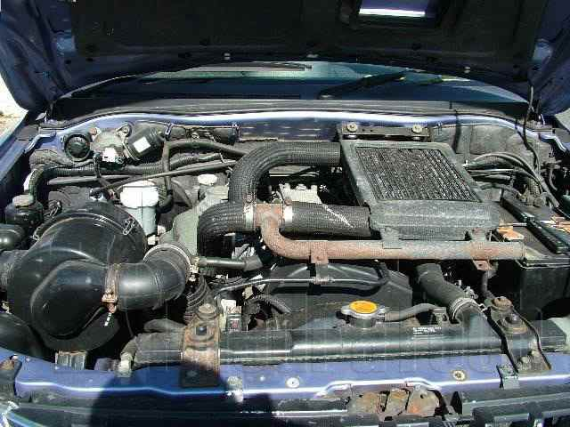 Engine Picture - Model 2 - MITSUBISHI L200 2500 cc 86-97  TURBO    FOUR WHEEL DRIVE  DOUBLE CAB PICK UP