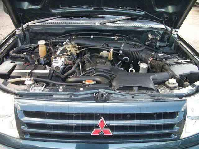 Engine Picture - Model 2 - MITSUBISHI L200 2000 cc 97-06  16 VALVE  EFI  BASIC MODEL  SINGLE CAB PICK UP