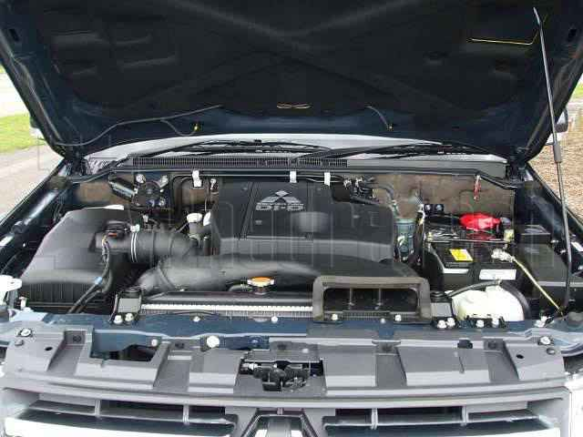 Engine Picture - Model 1 - MITSUBISHI L200 DIESEL 3200 cc 06-11  TURBO INTERCOOLER  DI DC  FOUR WHEEL DRIVE  DOUBLE CAB PICK UP