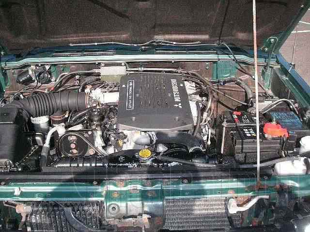 Engine Picture - Model 1 - MITSUBISHI L200 3000 cc 97-06  V6 24 VALVE  INJECTION    DOUBLE CAB PICK UP