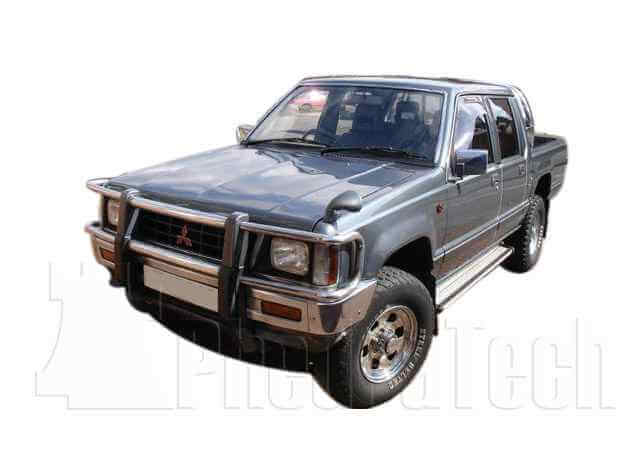 Car Picture - Model 2 - MITSUBISHI L200 2500 cc 86-97  TURBO    FOUR WHEEL DRIVE  DOUBLE CAB PICK UP