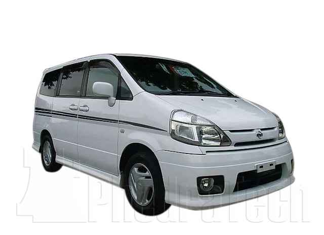 Car Picture - Model 1 - NISSAN SERENA DIESEL 2500 cc 00-0816 VALVEDI4X4 5 DOOR (LWB)