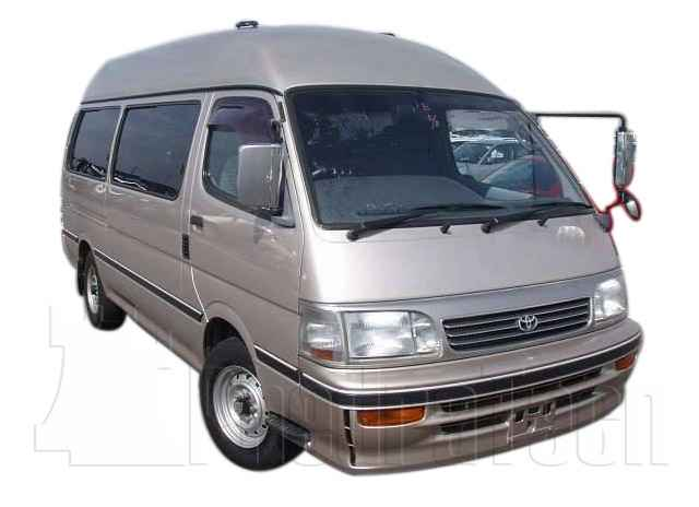 Car Picture - Model 8 - TOYOTA HIACE DIESEL VAN 2400 cc 90-96  TURBO    FOUR WHEEL DRIVE  WAGON