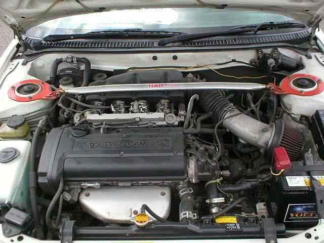 Engine Picture - Model 2 - TOYOTA LEVIN 1600 cc 92-98  20 VALVE  UPRATED ENGINE    2 DOOR SPORTS