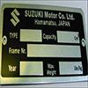 VIN Picture - Model 6 - SUZUKI GRAND VITARA 2000 cc 98-0516 VALVEINJECTION4X4 3 DOOR (SWB)
