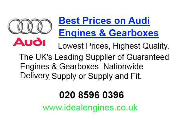 Replacement Audi S5 Engine for sale
