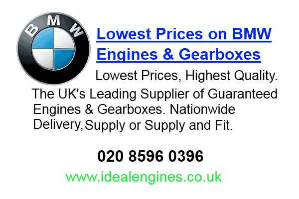 Reconditioning Bmw Engines for sale
