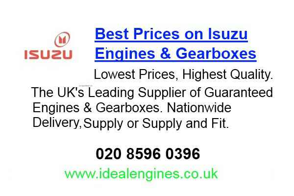 New Isuzu Veh Cross Engine for sale