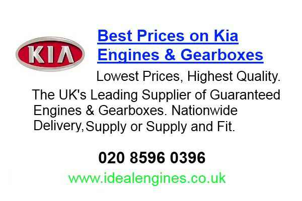 Rebuilt Kia Ceed Engine for sale