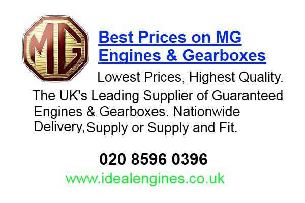 Reconditioning Mg Engines for sale