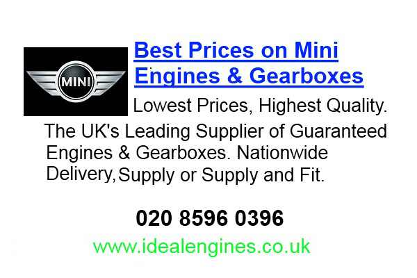 Reconditioned Mini Clubman Engine for sale