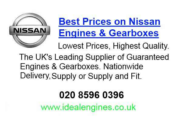 Reconditioning Nissan Primera Engine for sale