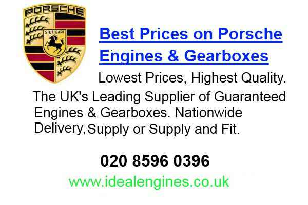 Rebuilt Porsche Engines for sale
