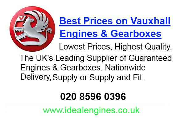 Reconditioned Vauxhall Corsa Van Engine for sale