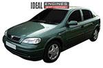 1999 Vauxhall Astra Engine