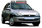 1999 Vauxhall Corsa Engine