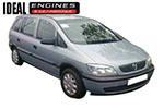 2000 Vauxhall Zafira Engine