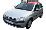 2001 Vauxhall Corsa Engine