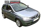 2003 Vauxhall Corsa Engine