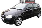 2004 Vauxhall Corsa Engine