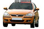 2005 Vauxhall Corsa Engine