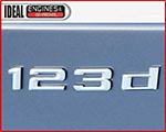 BMW 123d Logo