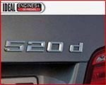 BMW 520d Diesel Engine Logo