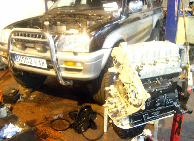 Ideal Engines Barking Review 2002 Mitsubishi L200 Diesel 25
