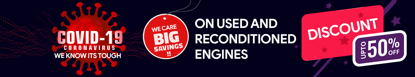 Used and Reconditioned Engines
